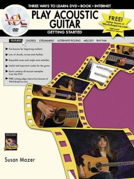 Play Acoustic Guitar: Getting Started: Three Ways to Learn: DVD * Book (AL-07-1113)