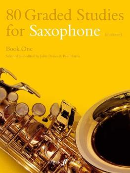 80 Graded Studies for Saxophone, Book One (AL-12-0571510477)