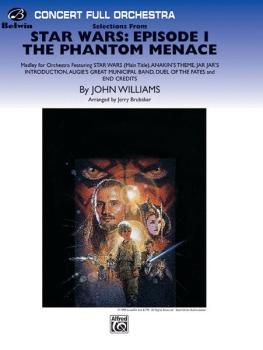 <I>Star Wars®:</I> Episode I <I>The Phantom Menace,</I> Selections fro (AL-00-FO9912)