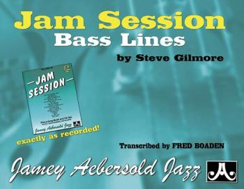 Jam Session Bass Lines (Transcribed from <i>Volume 34</i> Jam Session) (AL-24-GBL2)