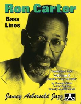 "Ron Carter Bass Lines (Transcribed from <i>Volume 6: Charlie Parker ""A (AL-24-RC1)"