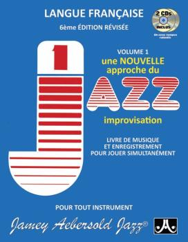 Jamey Aebersold Jazz, Volume 1: How to Play Jazz and Improvise (French (AL-24-V01DSF)