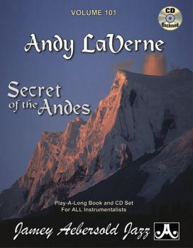 Jamey Aebersold Jazz, Volume 101: Andy LaVerne (Secrets of the Andes) (AL-24-V101DS)