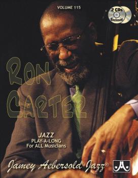 Jamey Aebersold Jazz, Volume 115: Ron Carter (AL-24-V115DS)