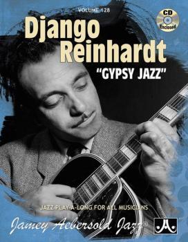"Jamey Aebersold Jazz, Volume 128: Django Reinhardt ""Gypsy Jazz"" (AL-24-V128DS)"