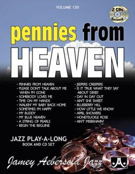 Jamey Aebersold Jazz, Volume 130: Pennies from Heaven (AL-24-V130DS)