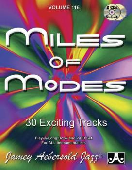 Jamey Aebersold Jazz, Volume 116: Miles of Modes (30 Exciting Tracks) (AL-24-V116DS)