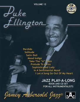 Jamey Aebersold Jazz, Volume 12: Duke Ellington (AL-24-V12DS)