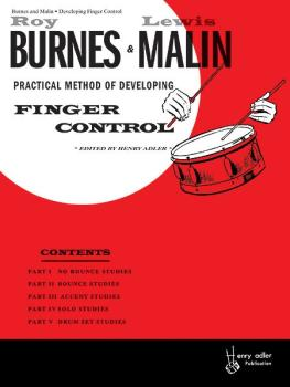 Developing Finger Control (AL-00-HAB00016)
