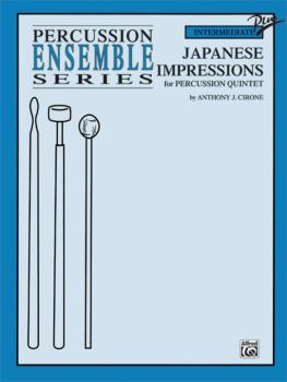 Japanese Impressions (For Percussion Quintet) (AL-00-0113B)