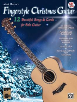 Fingerstyle Christmas Guitar: 12 Beautiful Songs & Carols for Solo Gui (AL-00-0280B)