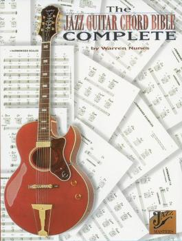 The Jazz Guitar Chord Bible Complete (AL-00-0343B)