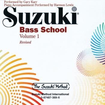 Suzuki Bass School, Volume 1: International Edition (AL-00-0369)