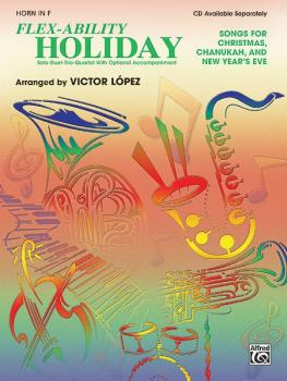 Flex-Ability: Holiday: Solo-Duet-Trio-Quartet with Optional Accompanim (AL-00-0696B)