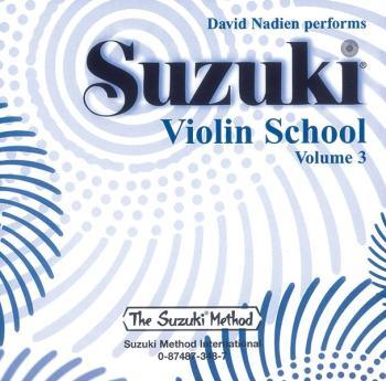 Suzuki Violin School CD, Volume 3 (AL-00-0348)