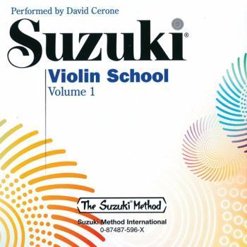 Suzuki Violin School CD, Volume 1 (AL-00-0596)