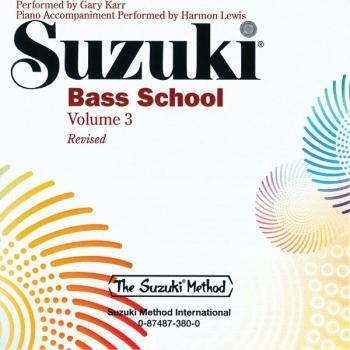 Suzuki Bass School CD, Volume 3 (Revised) (AL-00-0380)