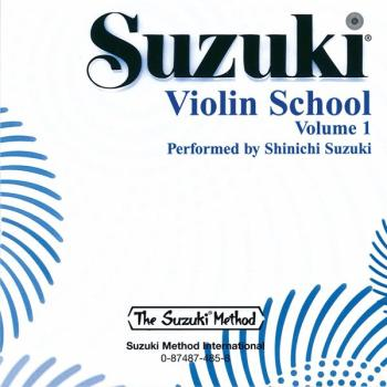 Suzuki Violin School CD, Volume 1 (AL-00-0485)