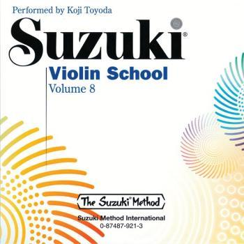 Suzuki Violin School CD, Volume 8 (AL-00-0921)