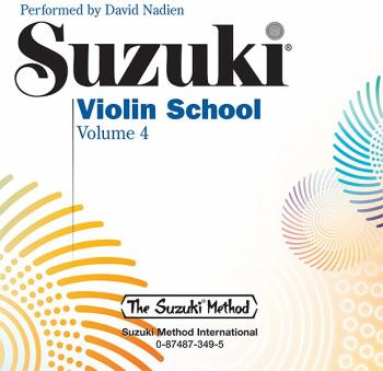 Suzuki Violin School CD, Volume 4 (AL-00-0349)