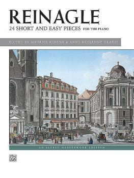24 Short & Easy Pieces, Opus 2 (AL-00-10107)