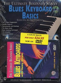 Ultimate Beginner Series Mega Pak: Blues Keyboard Basics (AL-00-DVD3002)
