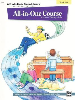 Alfred's Basic All-in-One Course Universal Edition, Book 5 (AL-00-14518)