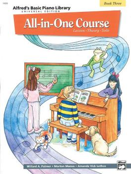 Alfred's Basic All-in-One Course Universal Edition, Book 3 (AL-00-14506)