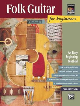 Folk Guitar for Beginners: An Easy Beginning Method (AL-00-14969)