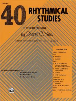 40 Rhythmical Studies (AL-00-EL01317)