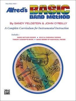 Alfred's Basic Band Method, Book 1: A Complete Curriculum for Instrume (AL-00-1618)