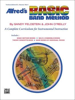 Alfred's Basic Band Method, Book 1: A Complete Curriculum for Instrume (AL-00-1624)