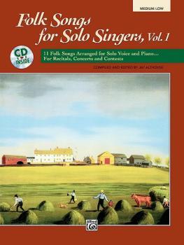 Folk Songs for Solo Singers, Vol. 1: 11 Folk Songs Arranged for Solo V (AL-00-16634)