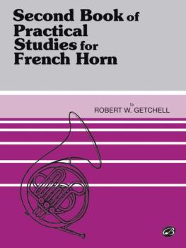 Practical Studies for French Horn, Book II (AL-00-EL01749)