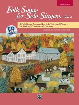 Folk Songs for Solo Singers, Vol. 2: 14 Folk Songs Arranged for Solo V (AL-00-16304)
