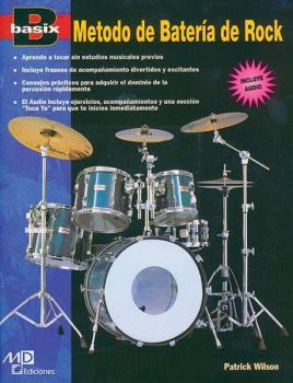 Basix®: Rock Drum Method (Metodo de Batería de Rock) (AL-00-17886)