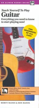 Alfred's Teach Yourself to Play Guitar: Everything You Need to Know to (AL-00-14118)