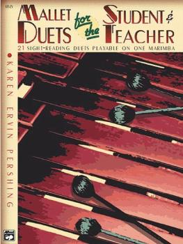 Mallet Duets for the Student & Teacher, Book 2: Sight-Reading Duets Pl (AL-00-17325)