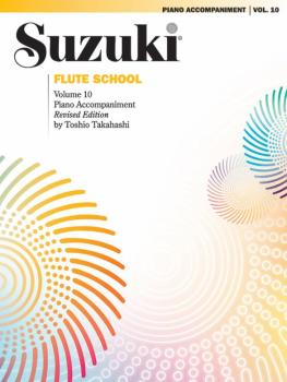 Suzuki Flute School Piano Acc., Volume 10 (Revised) (AL-00-0696S)