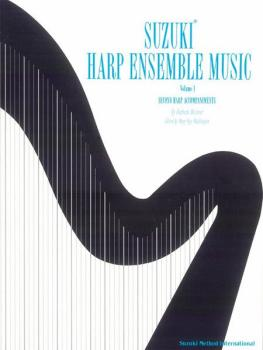 Suzuki Harp Ensemble Music, Volume 1: Second Harp Accompaniments (AL-00-0753)