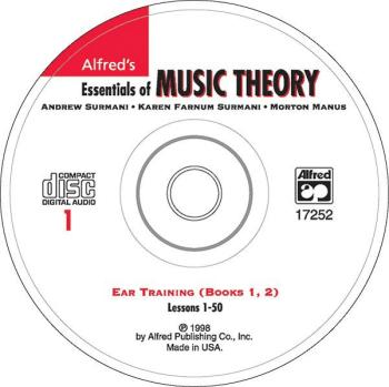 Alfred's Essentials of Music Theory: Ear Training CD 1 (for Books 1 &  (AL-00-17252)