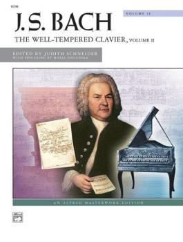 J. S. Bach: The Well-Tempered Clavier, Volume II (AL-00-16798)