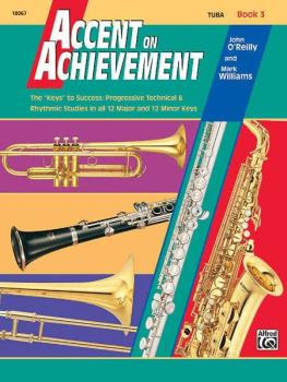 """Accent on Achievement, Book 3: The """"Keys"""" to Success - Progressive Tec (AL-00-18067)"""