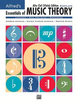 Alfred's Essentials of Music Theory: Complete Alto Clef (Viola) Editio (AL-00-18583)