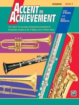 """Accent on Achievement, Book 3: The """"Keys"""" to Success - Progressive Tec (AL-00-18064)"""