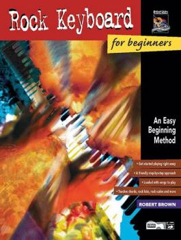 Rock Keyboard for Beginners: An Easy Beginning Method (AL-00-18411)