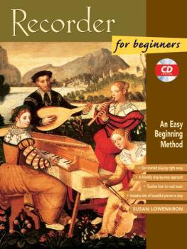 Recorder for Beginners: An Easy Beginning Method (AL-00-19408)