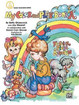 My Color and Play Book, Book A (AL-00-EL03144)