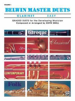 Belwin Master Duets (Clarinet), Easy Volume 1 (AL-00-EL03271)