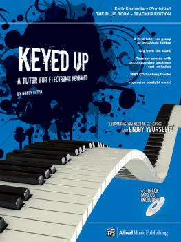 Keyed Up: The Blue Book: A Tutor for Electronic Keyboard (AL-00-20102UK)